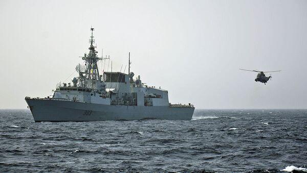 The Royal Canadian Navy frigate HMCS Toronto - Sputnik International