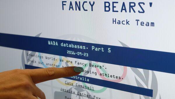 Fancy Bears release fifth part of hacked WADA database - Sputnik International