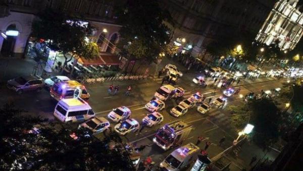 Budapest Blast Scene - Sputnik International