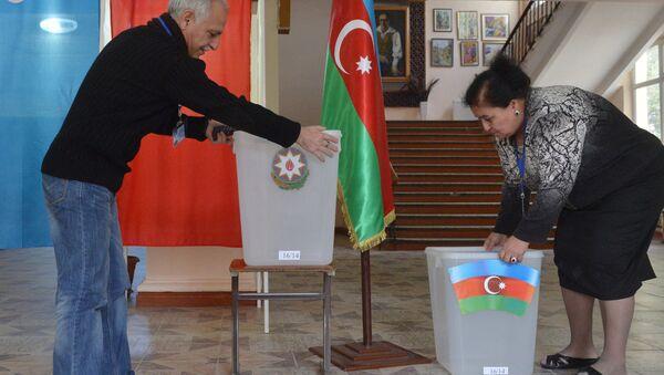 Preparing for election in Azerbaijan - Sputnik International