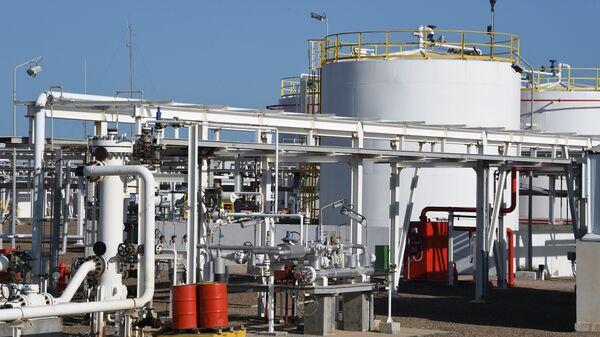 Facilities of the Chergui gas field concession of the UK based oil company Petrofac on the island of Kerkennah. (File)  - Sputnik International