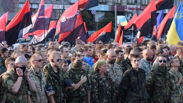 Right Sector public meeting in Kiev. File photo - Sputnik International