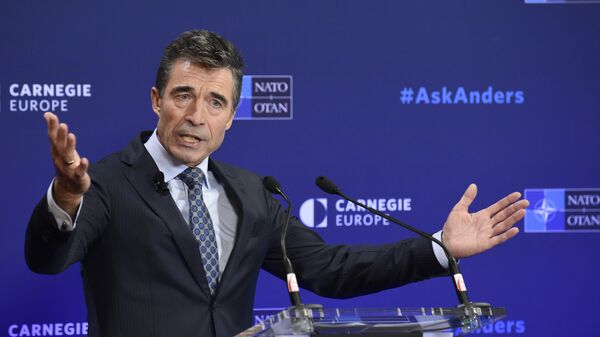 NATO General Secretary Anders Fogh Rasmussen (File) - Sputnik International