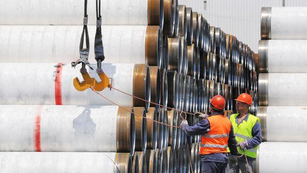 The Turkish Stream Offshore Pipeline - Sputnik International