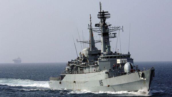Arabian Sea - The Pakistani Naval frigate PNS Tippu Sultan (D-185)(File) - Sputnik International