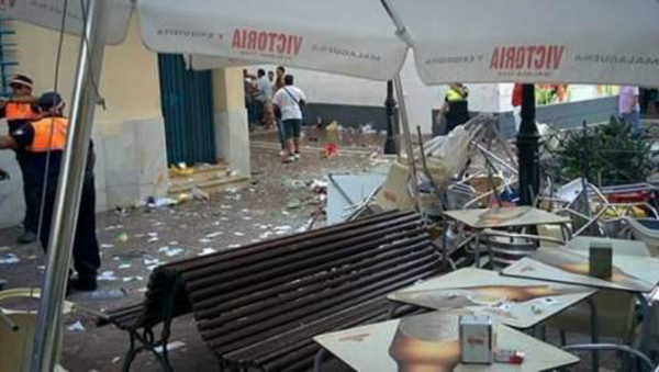 Velez-Malaga explosion - Sputnik International