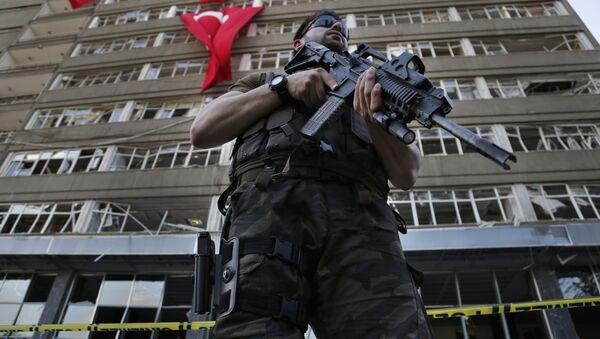 Turkish special forces policeman. (File) - Sputnik International