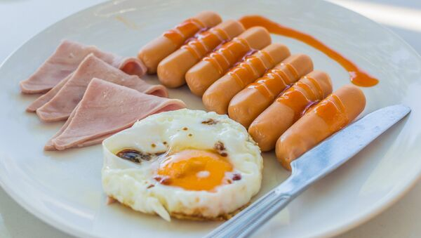 English breakfast - Sputnik International