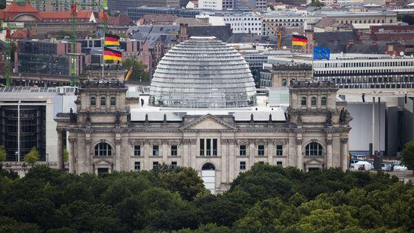The Reichstag building, house of German parliament Bundestag in Berlin - Sputnik International