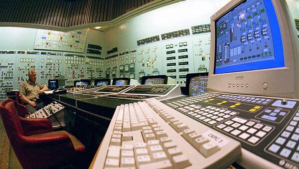 The control panel of the Zaporozhye nuclear power plant - Sputnik International