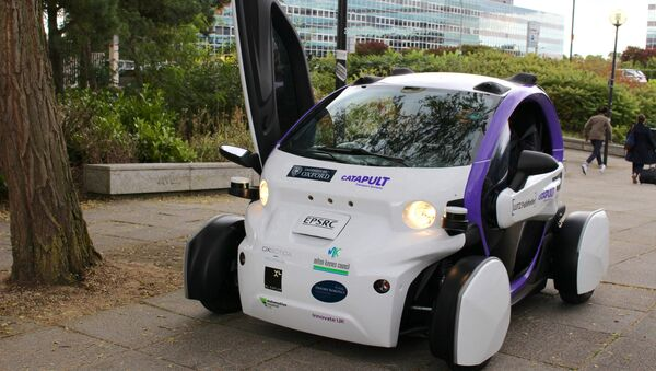 An Oxbotica driverless car - Sputnik International