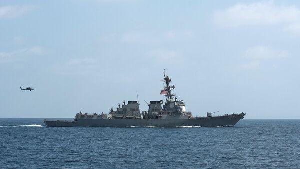 FILE PHOTO - The US Navy guided-missile destroyer USS Mason. - Sputnik International