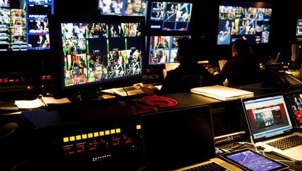 TV control room - Sputnik International