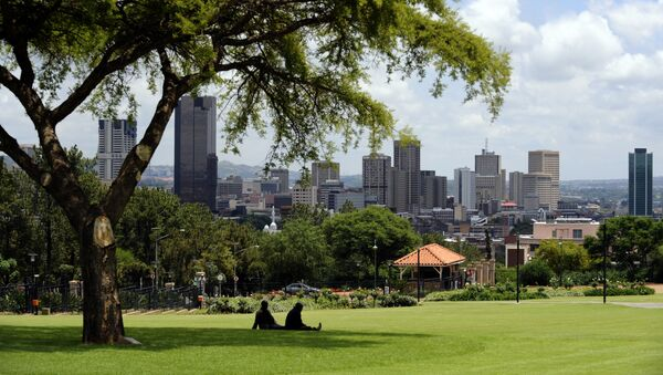 View of the city of Pretoria from the Union Buildings in South Africa - Sputnik International