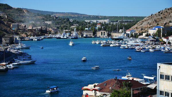 A view of the Balaklava Bay in Sevastopol from the Castle Hill - Sputnik International