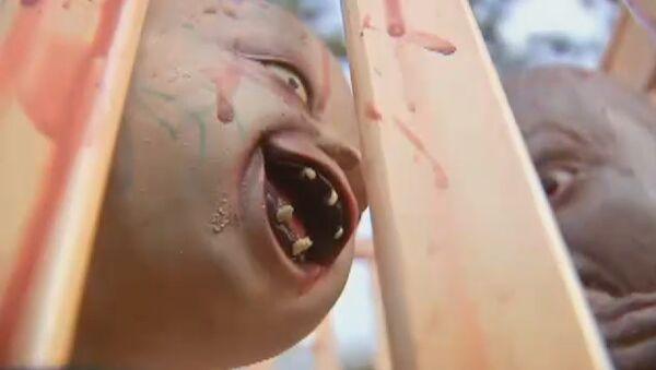 Zombie Baby Halloween Decoration - Sputnik International