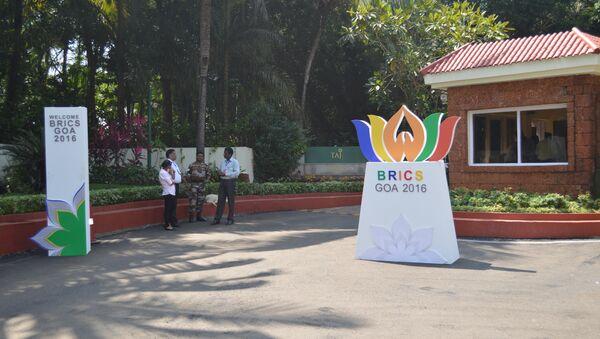 Goa BRICS - Sputnik International