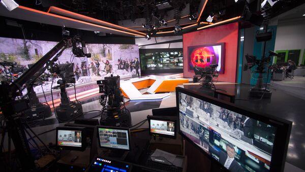 Russia Today channel - Sputnik International