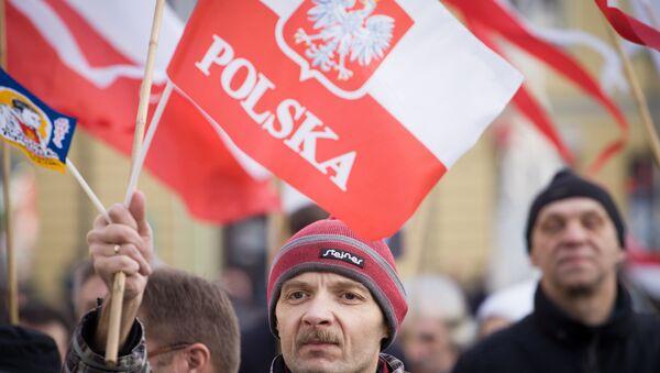 Pro democracy rally in Poland, December 2015 - Sputnik International