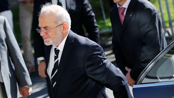 Iraq's Foreign Minister Ibrahim al-Jaafari arrives at the Beau-Rivage Palace ahead of Syria talks in Lausanne, Switzerland, October 15, 2016 - Sputnik International