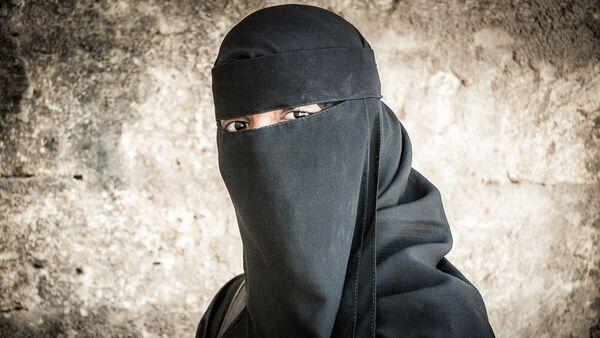 A girl in a burqa. (File) - Sputnik International