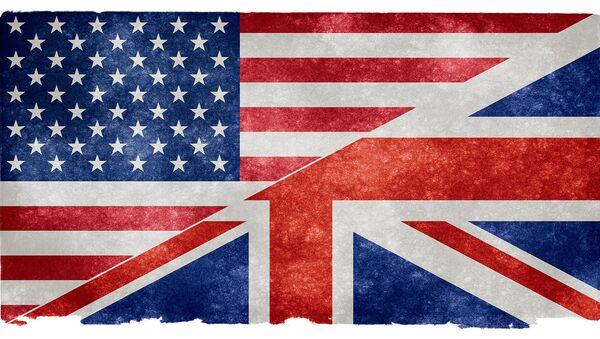 US and UK flag.  - Sputnik International