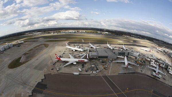 A general view Heathrow Airport near London, Britain October 11, 2016. - Sputnik International
