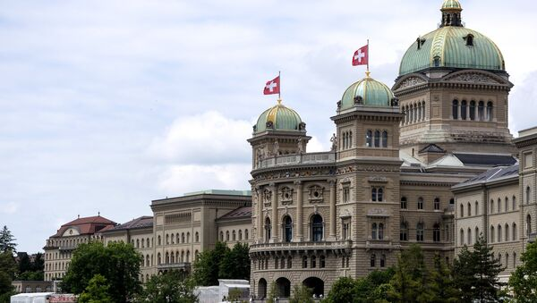 The Federal Palace (Parliament) in Bern, Switzerland. (File) - Sputnik International