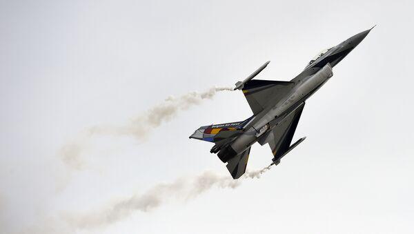 Lockheed Martin F-16,  Belgian Air Force - Sputnik International