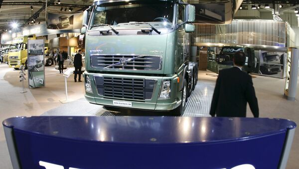 FH16 truck of Swedish company Volvo - Sputnik International