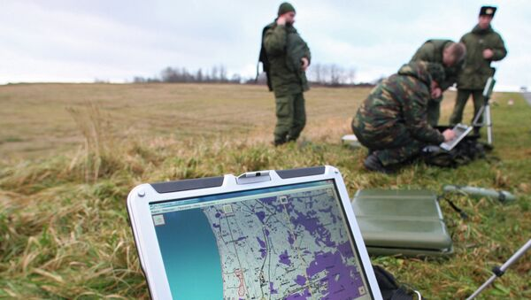 Russian Paratroops Equipped With Impregnable Video Messenger - Sputnik International