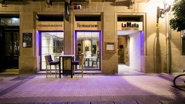 'La Mafia' restaurant - Sputnik International