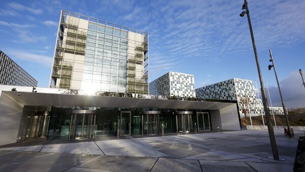 This file photo taken on November 23, 2015 shows the building of the International Criminal Court (ICC) in The Hague, The Netherlands - Sputnik International