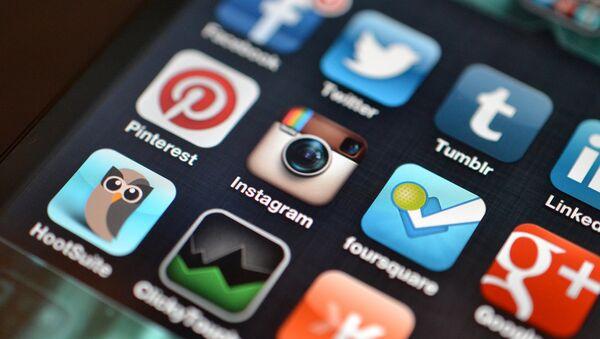 Social Media accounts. - Sputnik International