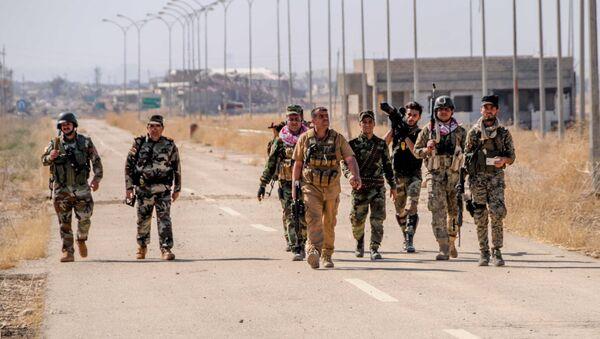 Peshmerga forces near Mosul, Iraq - Sputnik International