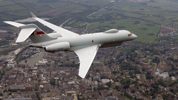 An ASTOR Sentinel R1 surveillance aircraft. (File) - Sputnik International