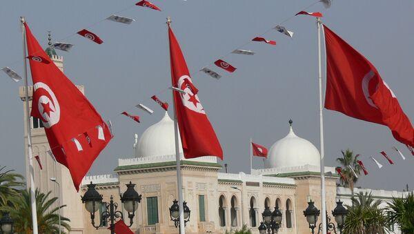 Tunisia Flag. (File) - Sputnik International