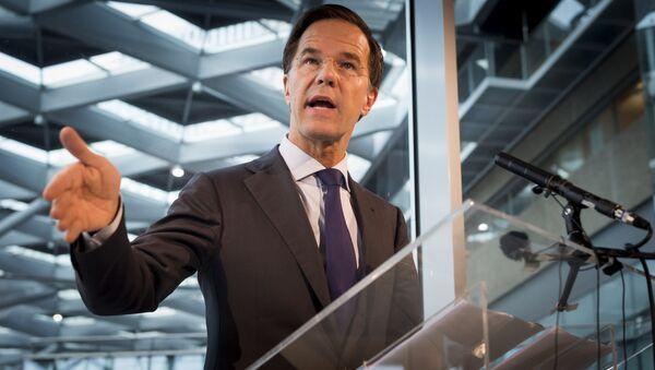 Dutch Prime Minister Mark Rutte - Sputnik International