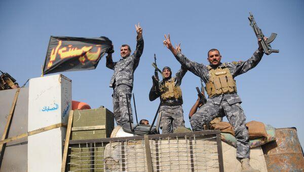 Iraqi army near Mosul - Sputnik International