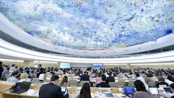 Session of the Human Rights Council. (File) - Sputnik International