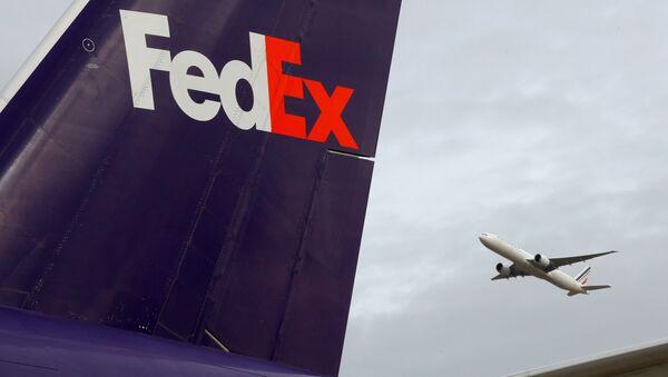 FedEx Jet - Sputnik International