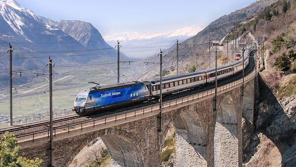 Swiss train - Sputnik International