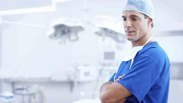 A doctor in a hospital - Sputnik International