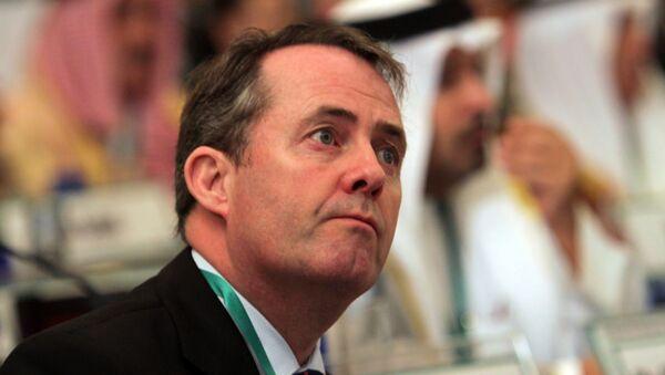 UK Minister for International Trade Liam Fox (File) - Sputnik International