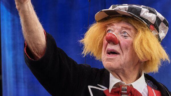 Russian clown Oleg Popov - Sputnik International