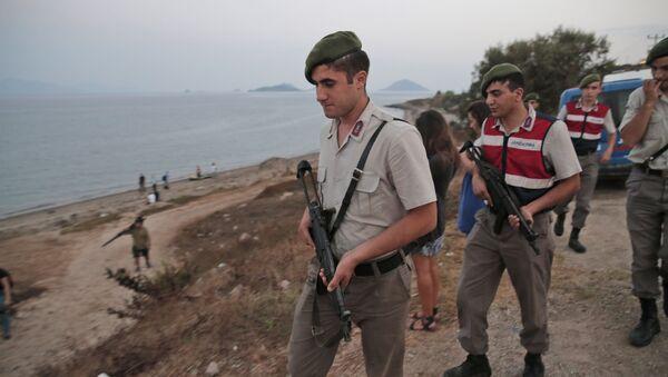Turkish Gendarmerie police officers (File) - Sputnik International