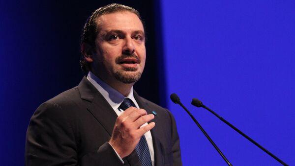 Lebanese prime minister Saad Hariri (File) - Sputnik International