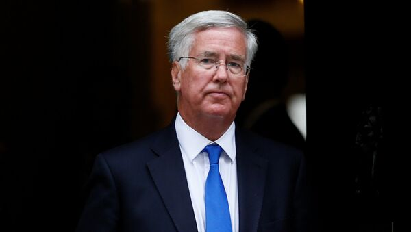 Britain's Secretary of State for Defence Michael Fallon leaves after attending a cabinet meeting at Number 10 Downing Street in London, Britain September 8, 2015. - Sputnik International