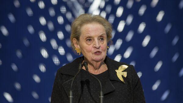 Former Secretary of State Madeleine Albright  (File) - Sputnik International