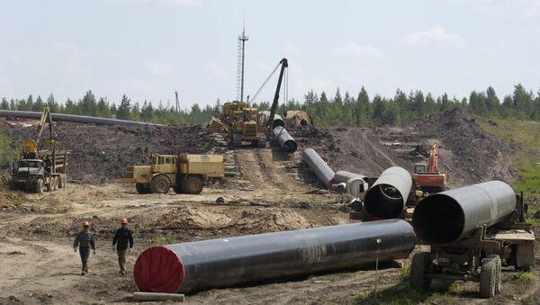 Construction gas pipeline. (File) - Sputnik International